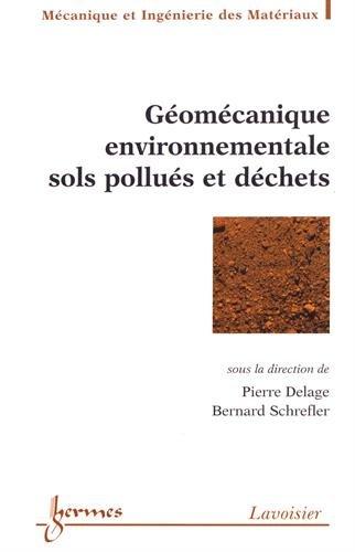 Géomécanique environnementale