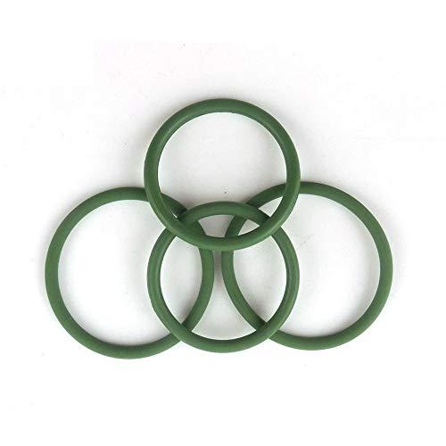 XBF-TOOL, X-Baofu, 5pcs de 4 mm de Espesor Verdes Juntas tóricas de FKM Sello de la Junta Lavadora 85/90/95/100/105/110/115/120/125/130 mm de DO FKM O Juntas anulares (tamaño : 100x92x4mm)