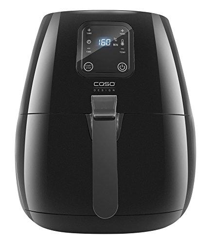 Caso 3173 AF150 Design Heißluftfritteuse für fettarmes frittieren, 3 L, 1350 W, schwarz