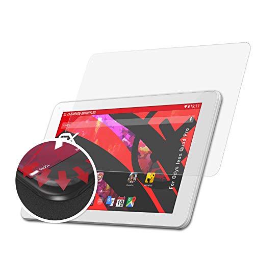 atFolix Schutzfolie kompatibel mit Odys Ieos Quad Pro Folie, entspiegelnde & Flexible FX Bildschirmschutzfolie (2X)