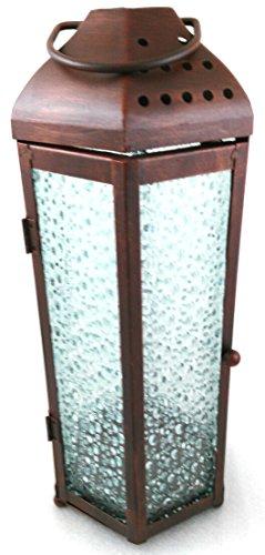 1a PartyLite - Kerzenlaterne Kupfer - P90107 - H: 30cm