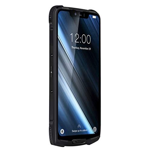 DREI sichere Handy IP68 / IP69K Super-Modular Rugged Mobile Phone 6.18inch Anzeige 5050mAh Helio P60 Octa-Core 6GB 128GB,Schwarz