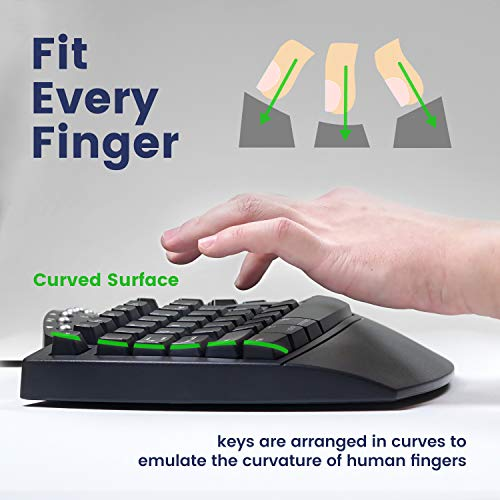 Best ergonomic keyboard for small hands