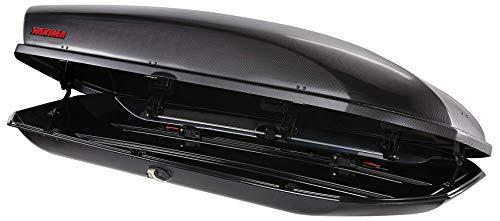 YAKIMA, SkyBox Aerodynamic Rooftop Cargo Box For Cars, Wagons, And SUVs