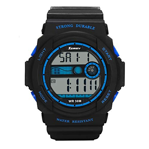 Hansee Herren-Quarzuhr Klassisch Minimalistisch europäischer Stil Casual Chic Uhren Gr. Einheitsgröße, blau