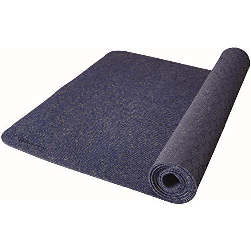 Nike Unisex– Erwachsene Flow Yogamatte, Blau, Einheitsgröße