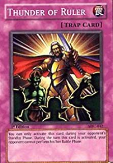 Yu-Gi-Oh! - Thunder of Ruler (MFC-042) - Magicians Force - 1st Edition - Common