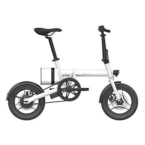 Gpzj Bicicleta eléctrica Plegable con batería extraíble de Iones de Litio de...