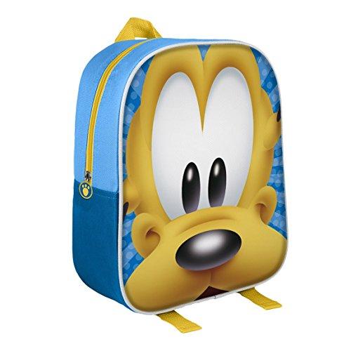 Disney 210000159631cm Pluto Effetto 3D Junior Zaino