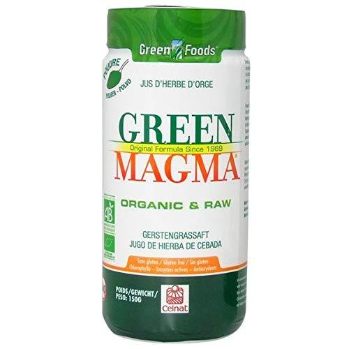 Green magma - Green magma en poudre - 150g poudre - Contribue à détoxiner, Bio, combattre l'acidité, amé