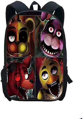 Morral de los niños, niño del bolso de escuela de los niños, Niños Mochila Niño, de dibujos animados de seguridad anti-perdida de llevarlo como mochila for niños BagFive Noches en personajes de dibujo