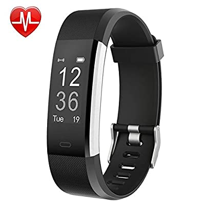 Willful Fitness Tracker with Heart Rate Monitor, Fitness Watch Activity Tracker Waterproof Slim Smart Band with Step Calorie Counter 14 Sports Mode Sleep Monitor,Pedometer for Kids Women Men
