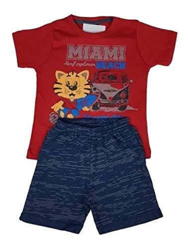 Kit Com 10 Conjunto Roupa Infantil Menino Masculino Atacado Tamanho:6
