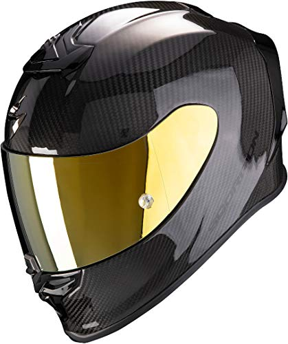 Scorpion Motorradhelm EXO-R1 CARBON AIR Solid, Schwarz, S