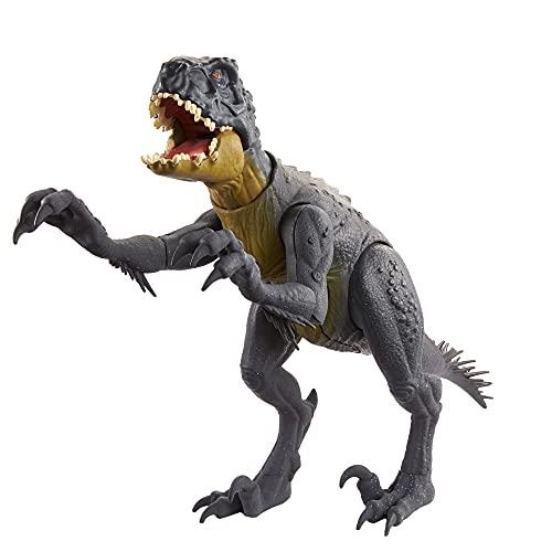 Jurassic World Stinger Corta y Lucha, dinosaurio articulado con movimiento, juguete para niños +4 años (Mattel HCB03)