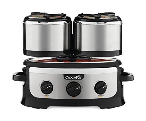 3 unit crock pot - 2