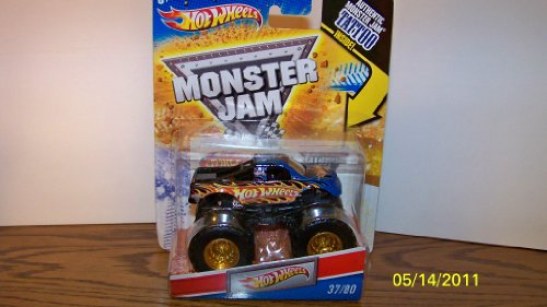Hot Wheels Monster Jam Tattoo Series Hot Wheels Truck 1/64 Scale #37/80 by hotwheels (English Manual)