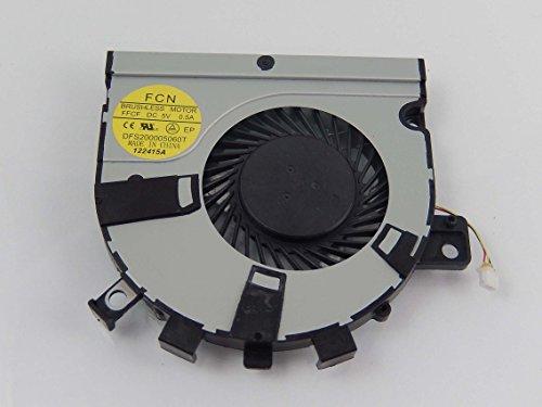 vhbw Ventilador CPU/GPU con Clavija 3-Pin Compatible con Toshiba Satellite E55D, E55T, M40T-AT02S, M50T-A, U40t Notebook, portátil