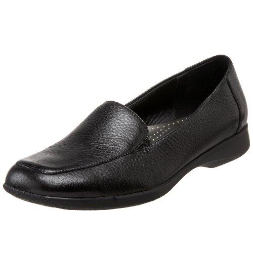 Trotters Women's Jenn Slip-On,Black Soft Tumbled,9 WW US