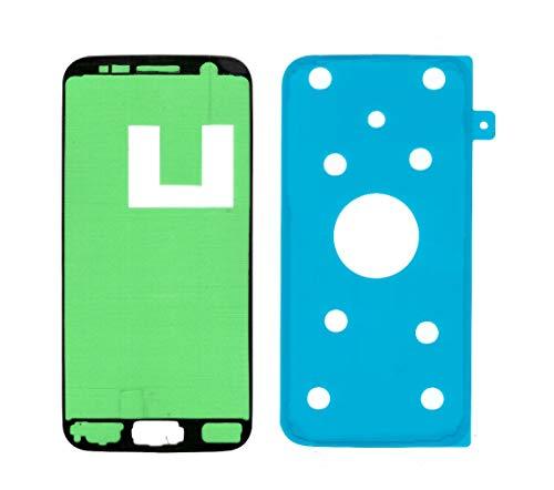 imponic Kleber, Klebefolie Adhesive für Display und Rückseite Akkudeckel kompatibel mit Samsung Galaxy S7 SM- G930