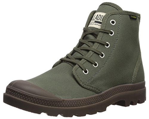 Palladium Unisex-Adult Pampa Hi Orginale Ankle Boot, Green-326, 11 Medium US