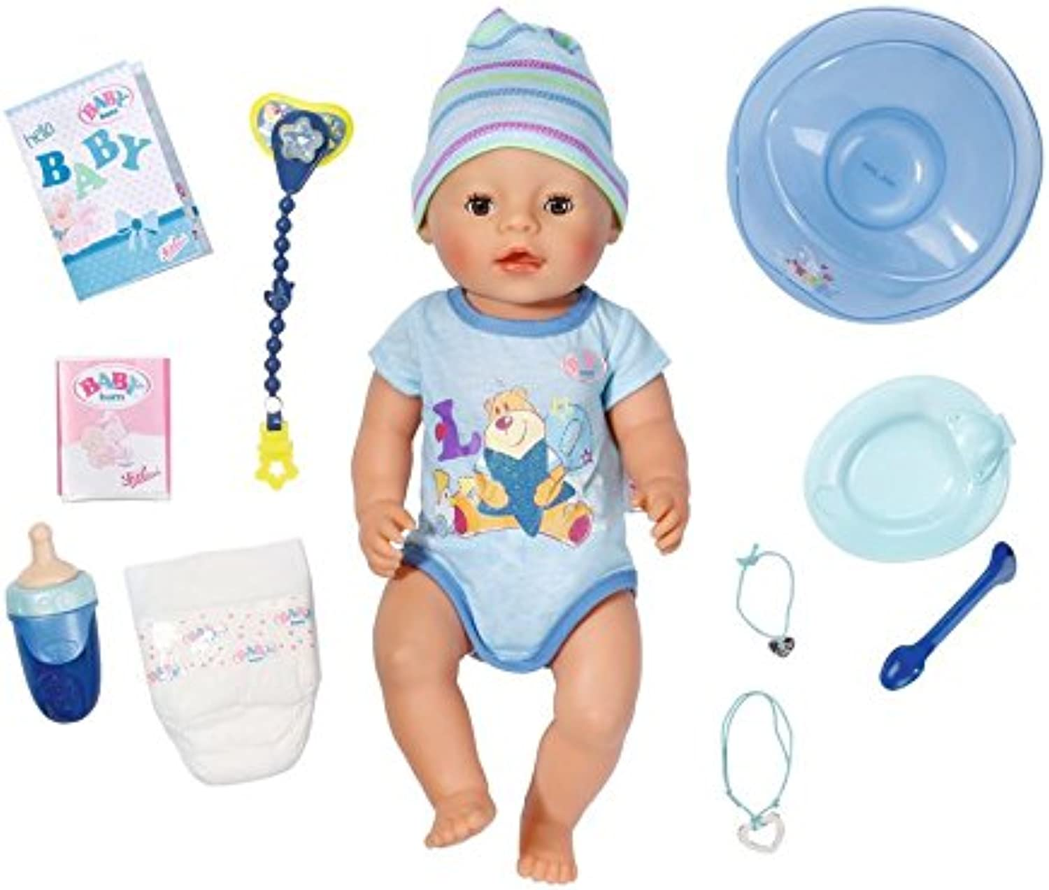 New BABY Born Interactive Boy Doll