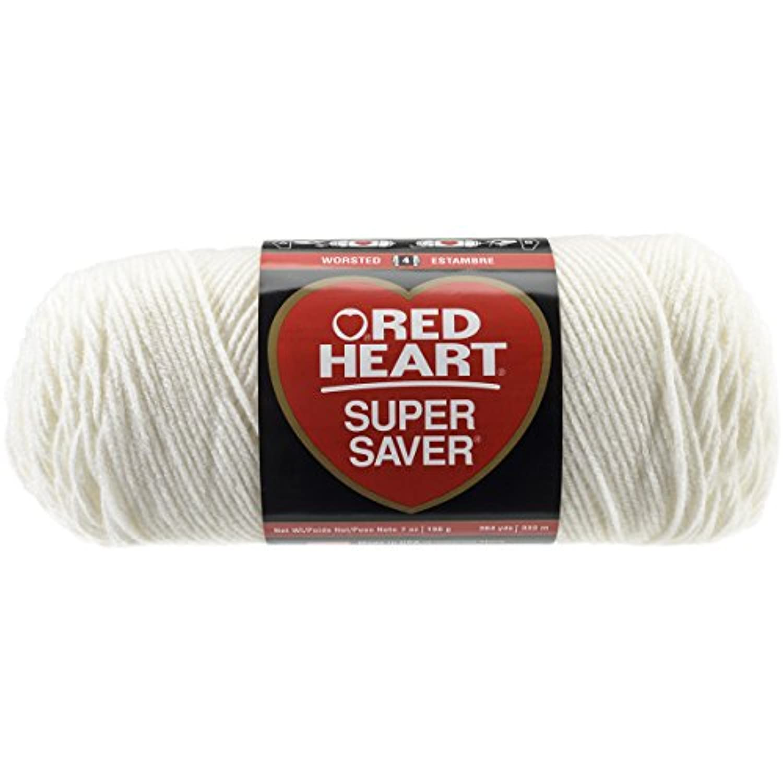 Red Heart Super Saver Yarn, Soft White