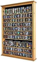 Large 144 Shot Glass Shooter Display Case Rack Holder Cabinet, Holds Hard Rack, Jack Daniel - OAK Finish