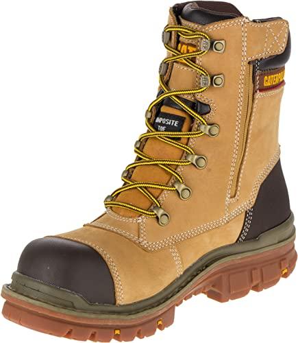 """Caterpillar Premier 8"""" WR TX CT S3 HRO SRC, Zapatos de Seguridad Hombre, Amarillo (MN Hnyrst MN Hnyrst), 42 EU"""