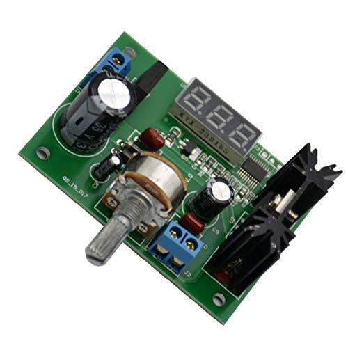 UKCOCO CC Alternatif de Module abaisseur de régulateur de Tension réglable vers 5V 12V Affichage à LED