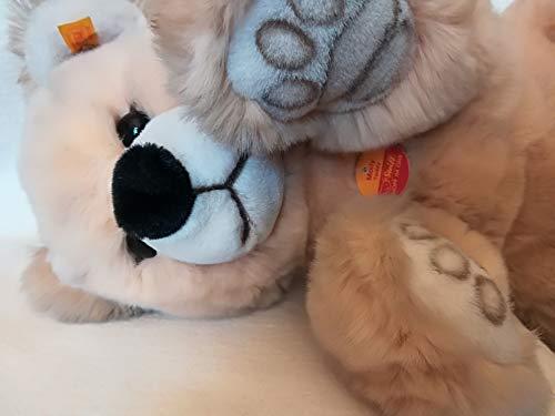 Steiff 022029 - Teddybär Molly 48 cm blond und total kuschlig