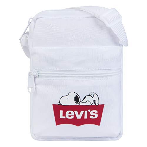 Levi's Kids' Big Crossbody Bag, White Snoopy, O/S