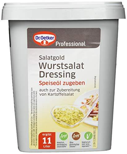 Dr. Oetker Professional, Wurstsalat-Dressing, Trockenmischung in 1 kg Dose, wiederverschließbar, 1-39-205982
