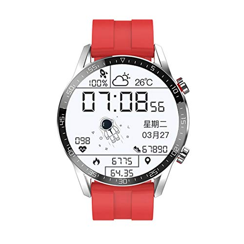 LAB E12 Sports Smart Watch Bluetooth Call Hombre IP67 Pantalla Táctil Completa 2021 Nuevo Smartwatch para Android iOS Fitness Tracker,C