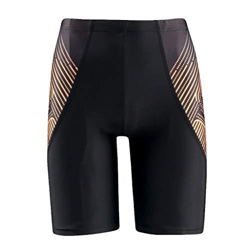 Yowablo Herren Shorts Badepants Sweatshorts Sport Shorts Trainingsshorts Kurze Jogginghose Boxer Shorts Kurze Hose Boxershorts Bermudas Sunbrief (3XL,Schwarz)