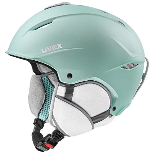 uvex Unisex– Erwachsene, primo Skihelm, mint mat, 52-55 cm