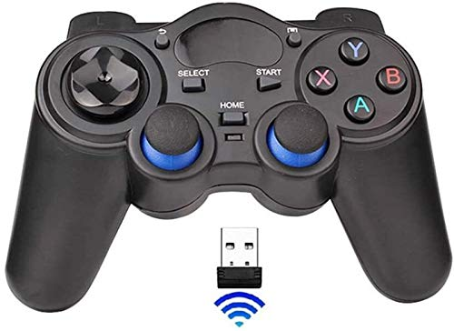 GCX Exquisito Controlador de Juegos con Cable PC Gamepad Joystick para computadora...