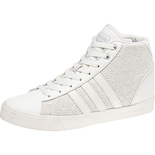 adidas Cloudfoam Daily Qt Mid, Zapatos de Baloncesto para Mujer, Blanco (Cwhite/Cwhite/Msilve 000), 41 1/3 EU