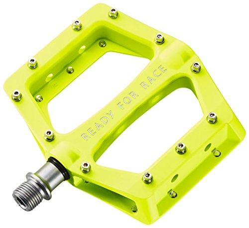 RFR Flat Race Fahrrad Pedale neon gelb