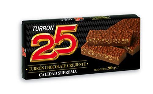 Turrón Chocolate crujiente Turrón 25 200 gr