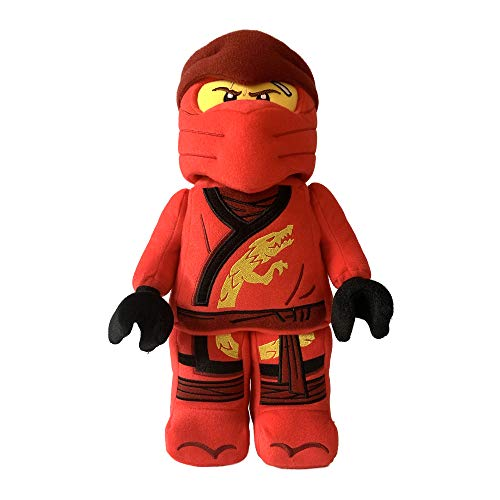 Manhattan Toy 335540 Kai Ninja Krieger Lego NINJAGO Plüsch Charakter, Multicolour, 33.02cm