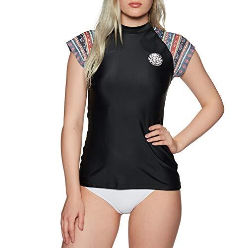 RIP CURL Cabana Cap - Camiseta de Surf - Manga Corta - Mujer