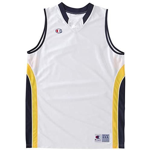 [チャンピオン] タンクトップ 速乾 ワンポイントロゴ ゲームシャツ バスケットボール GAME CBR2204 メンズ ホワイトN M