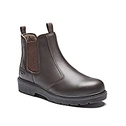 Dickies Mens Slip On Safety Boots