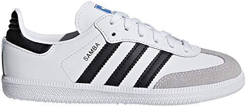 adidas Unisex-Kinder Samba Og C Fitnessschuhe, Weiß (Blanco 000), 34 EU