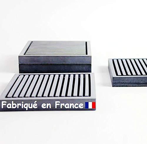 Jabonera de hormigón fabricada a mano en Francia - Artesanía Provenzal - Cuarto de baño y cocina - Concretely X1
