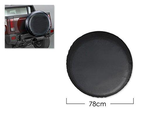DSstyles Reifenabdeckung 30 Zoll Ersatzradabdeckung Reifenabdeckung für Auto - Schwarzes