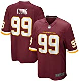 Camiseta de los hombres con uniforme de fútbol americano Washington Young #99 Football Jerseys Gruby Tee Shirts