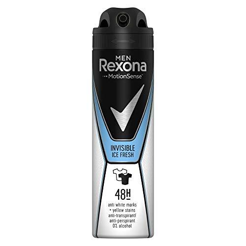 Rexona Desodorante 150 ML. Men Invisible Ice Fresh, Estándar, Único