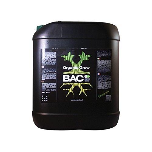 Fertilizante / Abono de Crecimiento para cultivo BAC Organic Grow (5L)